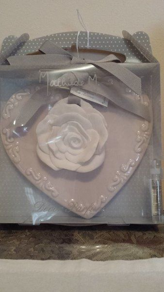 Scented Rose and Heart shaped Plate Room Decor