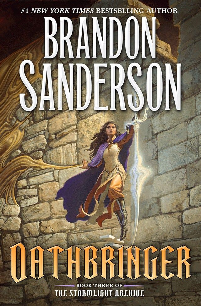 "We are excited to reveal artist Michael Whelan's cover to the U.S. edition of Oathbringer, the much-awaited third book in Brandon Sanderson's Stormlight Archive fantasy series. ""W…"