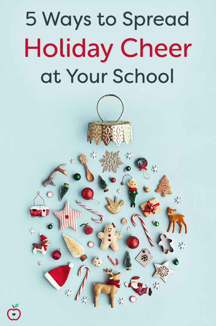 The beginning of December is the perfect time to plan a fun holiday activity for the teachers at your school. There are only a few more weeks before holiday break, the kids are bouncing off the walls, and the teachers need a little bit of excitement. Here are 5 ways to spread holiday cheer to your colleagues.