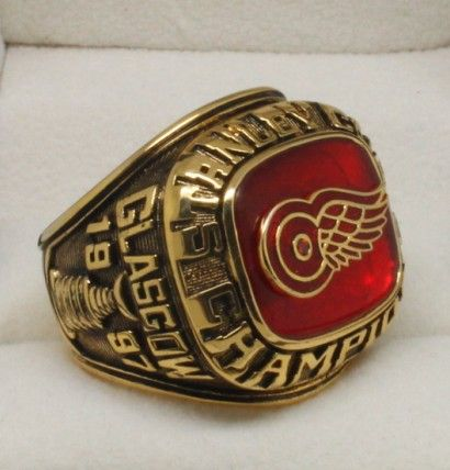 1997 Detroit Red Wings Stanley Cup Championship ring