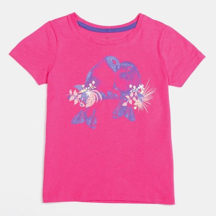 Little Girls' Short-Sleeve Screen Tee for $3.97