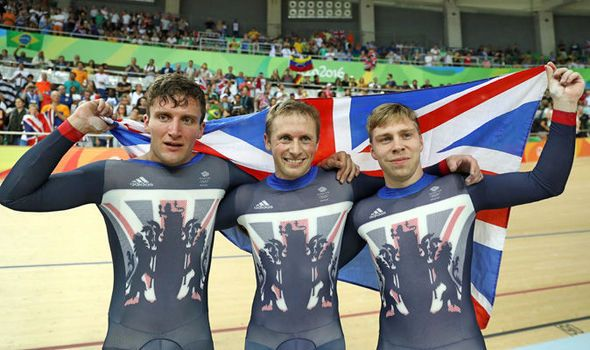 Team GB take gold in mens team sprint by defeating world champions New Zealand