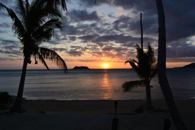 Sunset at Tropica Island Resort, Mamanuca, Fiji