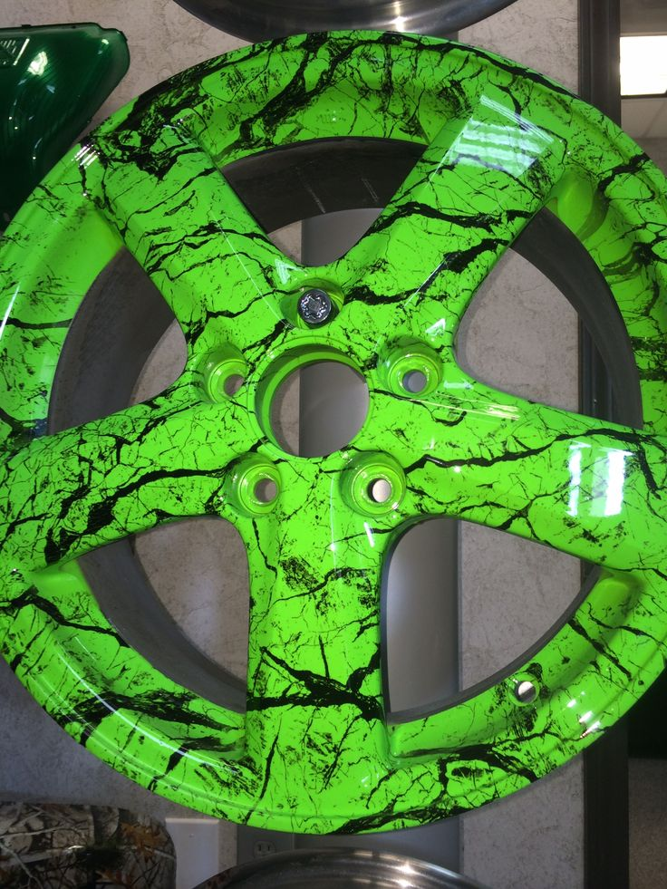 Wheel Hydro Dipped