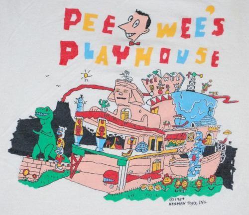 Pee wee playhouse merchandise