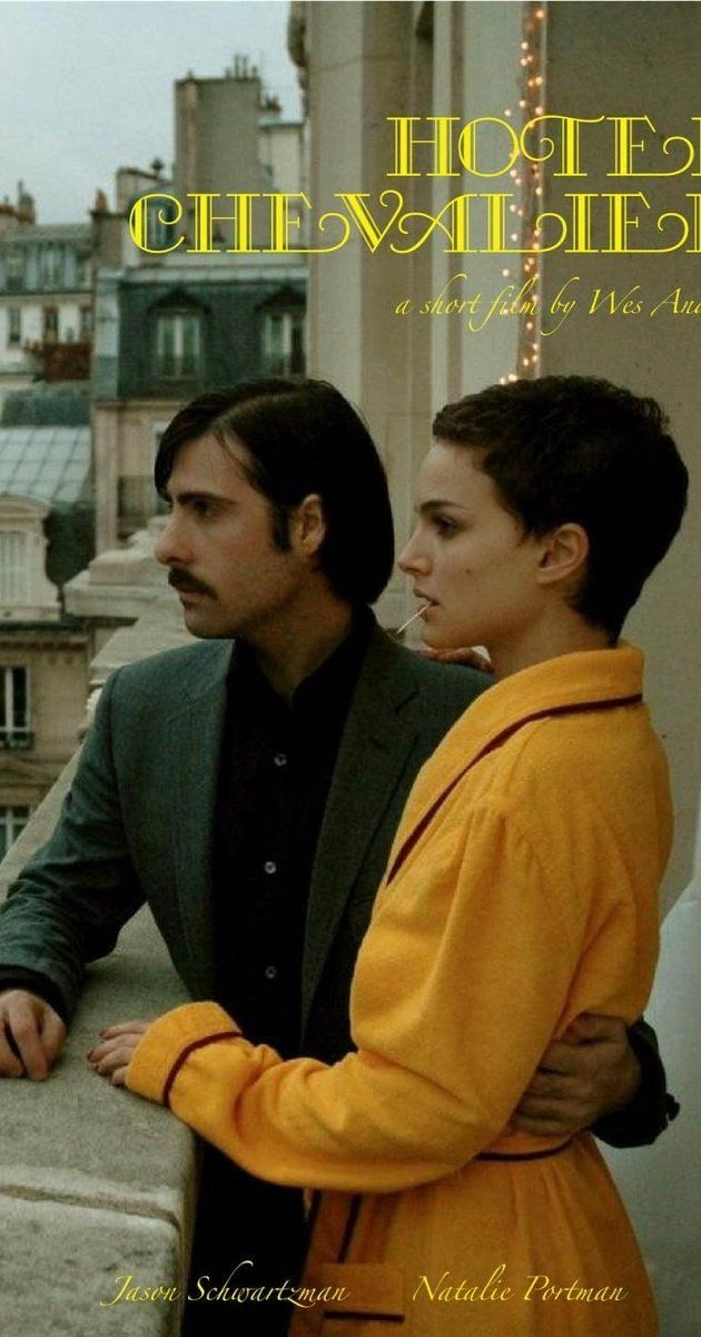 Directed by Wes Anderson.  With Jason Schwartzman, Natalie Portman, Waris Ahluwalia, Michel Castejon. A prologue of one heart-breaking history of love and the prologue of the travel told in The Darjeeling Limited (2007).