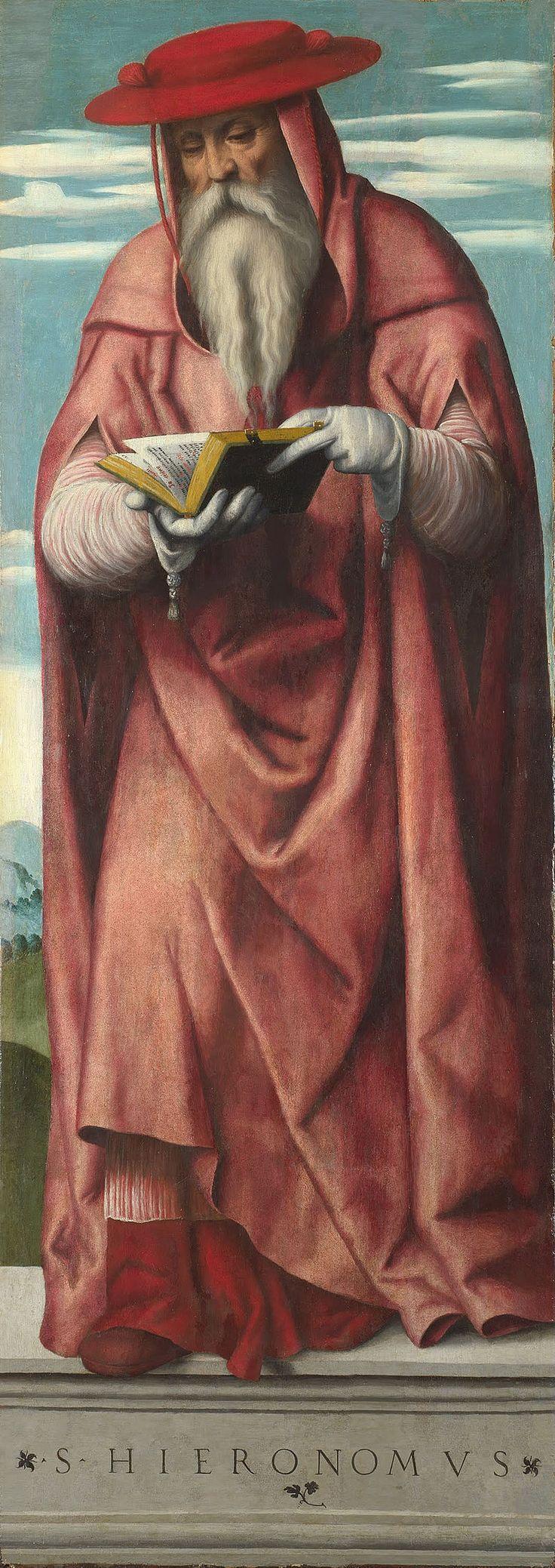 Moretto da Brescia - Saint Jerome - Google Art Project - Category:Google Art Project works by Moretto da Brescia - Wikimedia Commons
