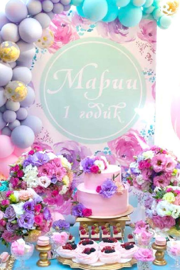 36 Most Popular Girl 1st Birthday Themes In 2021 1st Birthday Themes Girls Birthday Party Themes 1st Birthday Girls