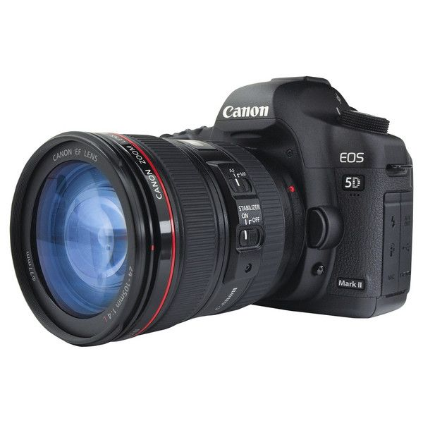 EOS 5D Mark II (2,875 CAD) ❤ liked on Polyvore featuring camera