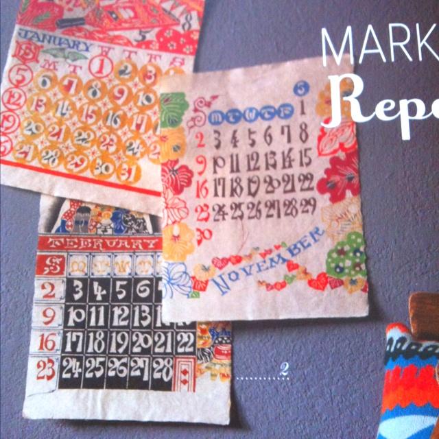 Vintage Serizawa calendars in Anthology magazine, Winter 2012.