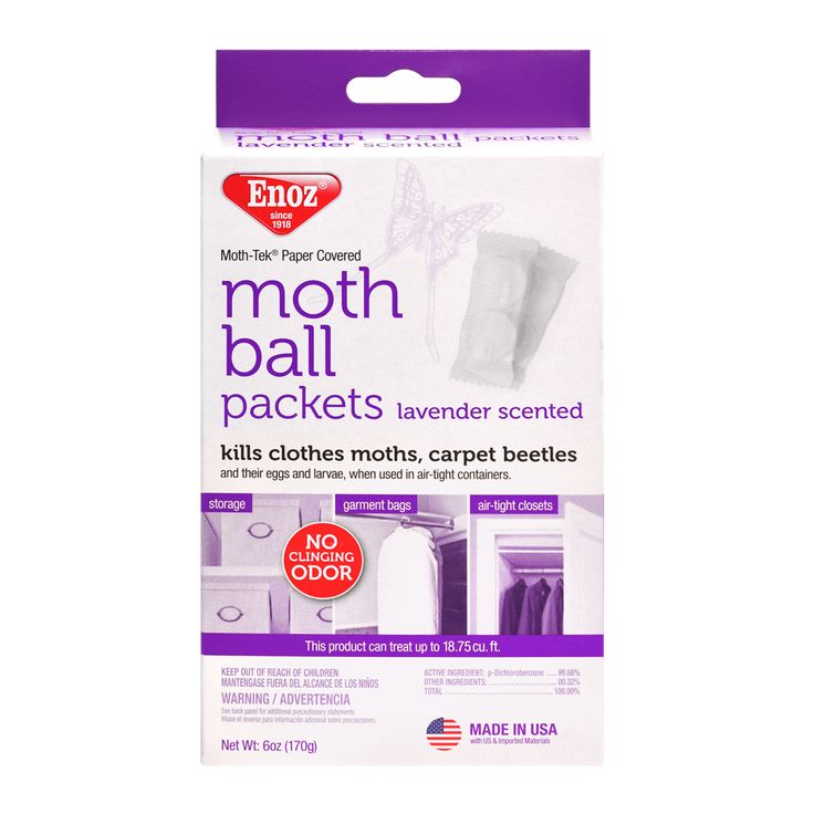 Enoz Moth Ball Packets - Lavender Scented