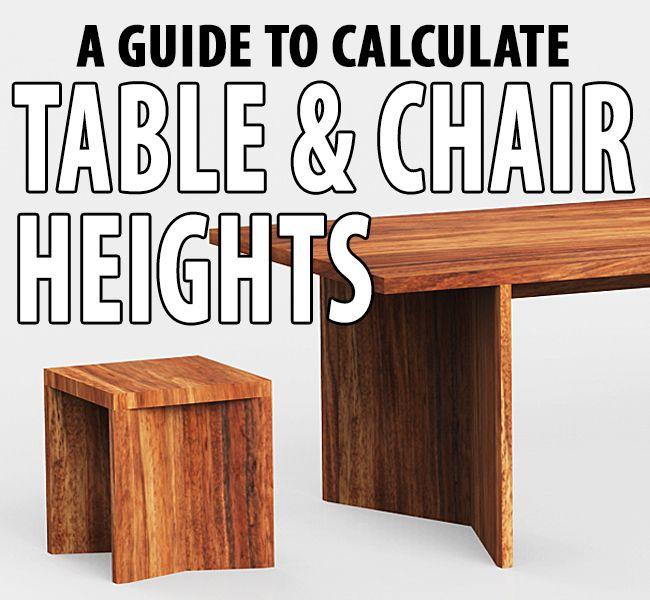 List Of Standard Table Chair Heights Dining Table Height