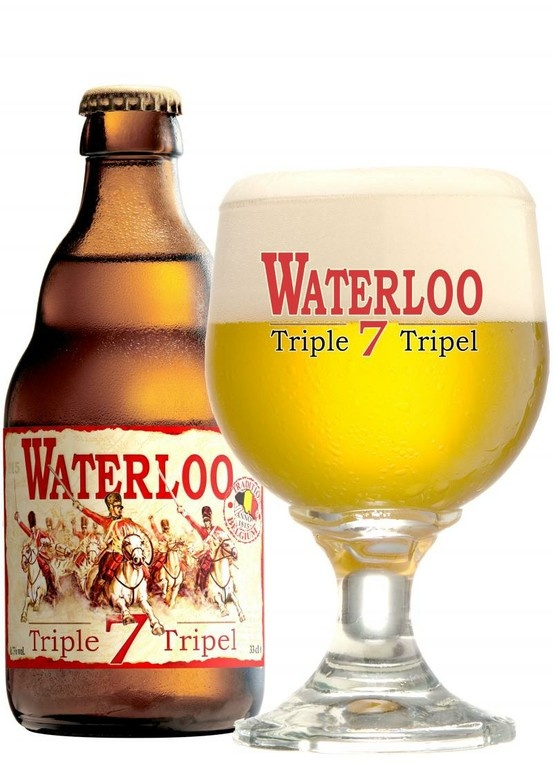 Waterloo 7 Triple, Brasserie Du Bocq from Purnode, Belgium 7.5% 7/10