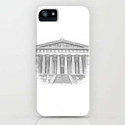 Walhalla iPhone Case by Rainer Steinke - $35.00 #hall #fame #Valhalla #bavaria #germany #europe #temple