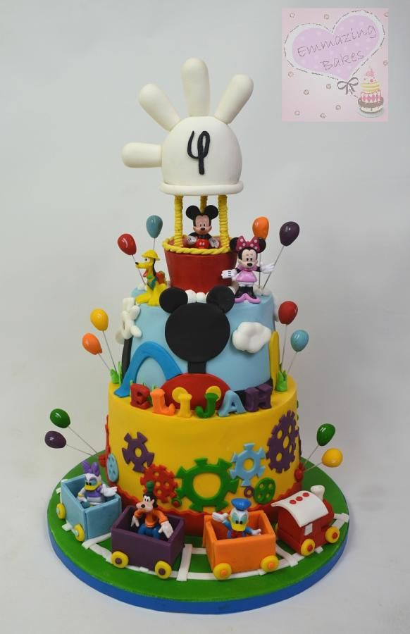 Cake Designs Mickey Mouse : Mickey mouse clubhouse - Cake by Emmazing Bakes awesome ...