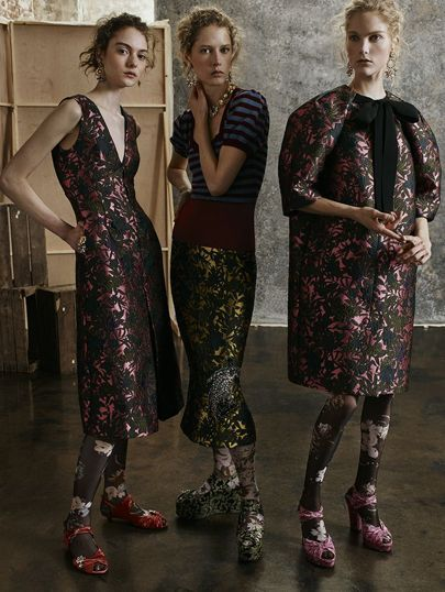 Erdem Autumn/Winter 2017 Pre-Fall Collection | British Vogue