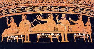 Γεύσεις της Εύβοιας: Αρχαίων γεύσεις : Τυρόψωμο από τον Κάτωνα