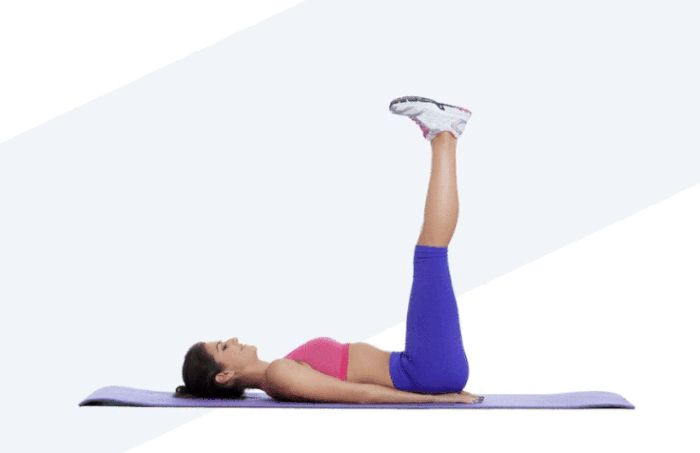 Lose Belly Pooch Challenge - Reverse Crunch