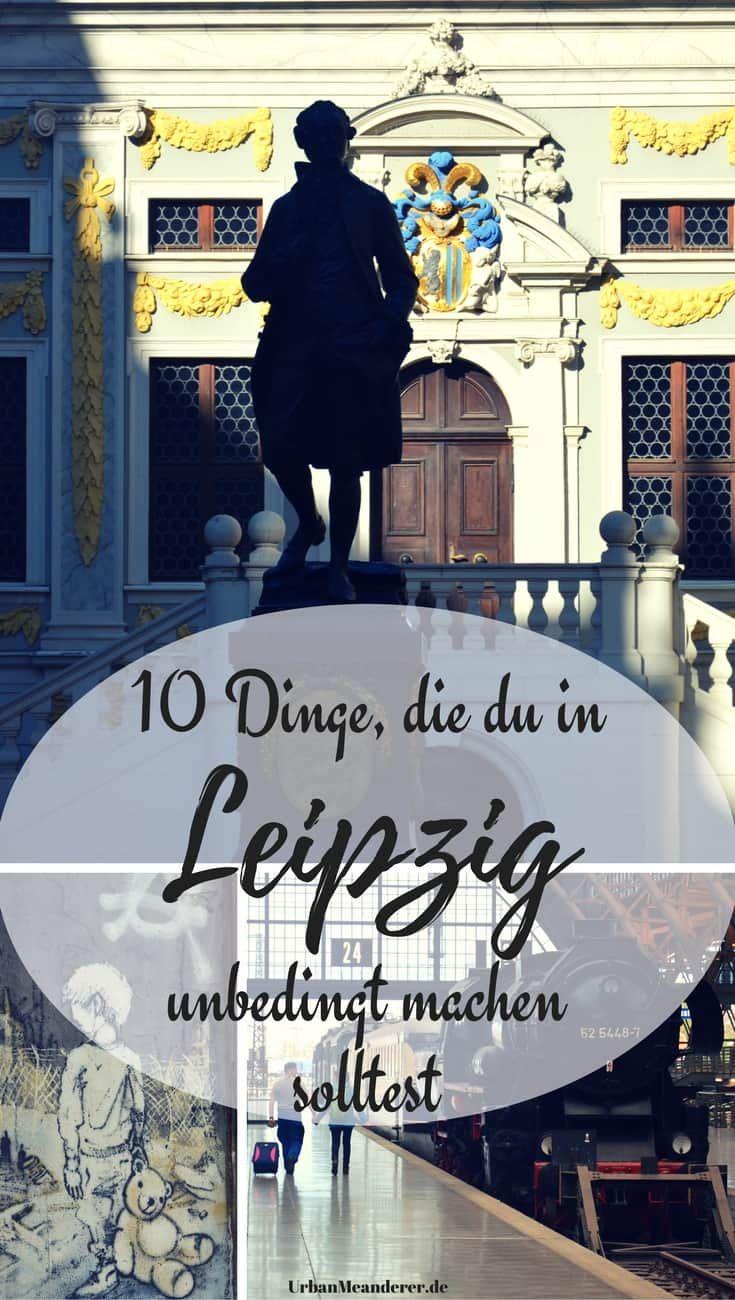 Bei einem Leipzig Kurztrip hast du die Qual der Wahl zwischen zahlreichen Unternehmungen. Hier stelle ich dir 10 davon vor, die du nicht verpassen solltest.