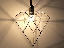 Wire lamp - X3 6/99