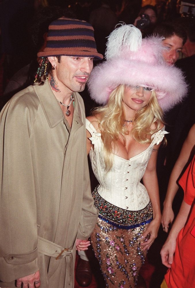 Pamela Anderson And Tommy Lee 1999 Pam Anderson