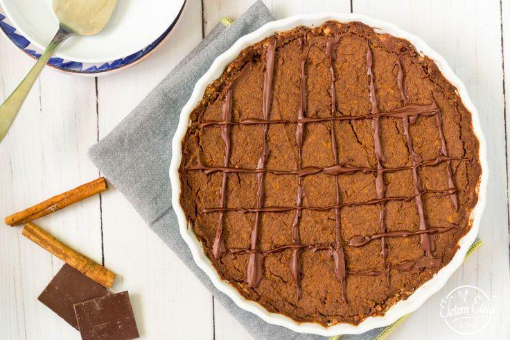 Tripla csokis sütőtökös pite