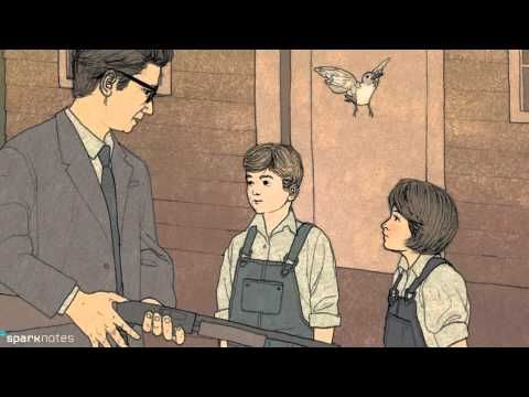 a literary analysis of boo and tom in to kill a mockingbird by harper lee Shoot all the bluejays you want, if you can hit 'em, but remember it's a sin to kill a mockingbird a lawyer's advice to his children as he defends the real mockingbird of harper lee's classic novel—a black man charged with the rape of a white girl.