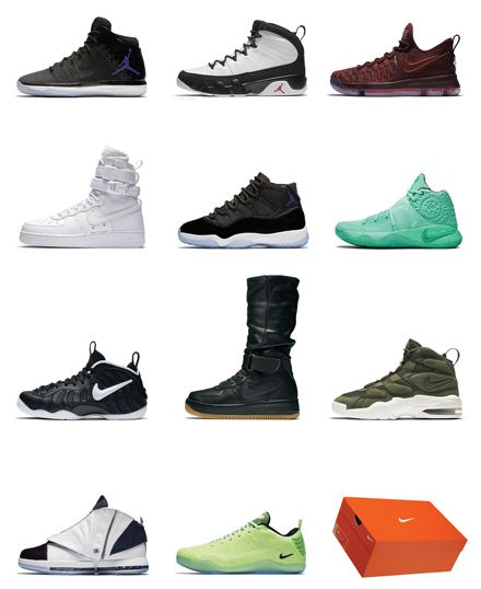 Get all the NIKE Iconic models スニーカー好きのための、ナイキの名作だらけの専門サイト「NIKE+ SNKRS」が誕生  http://gqjapan.jp/fashion/news/20161117/nike-snkrs#pages/1