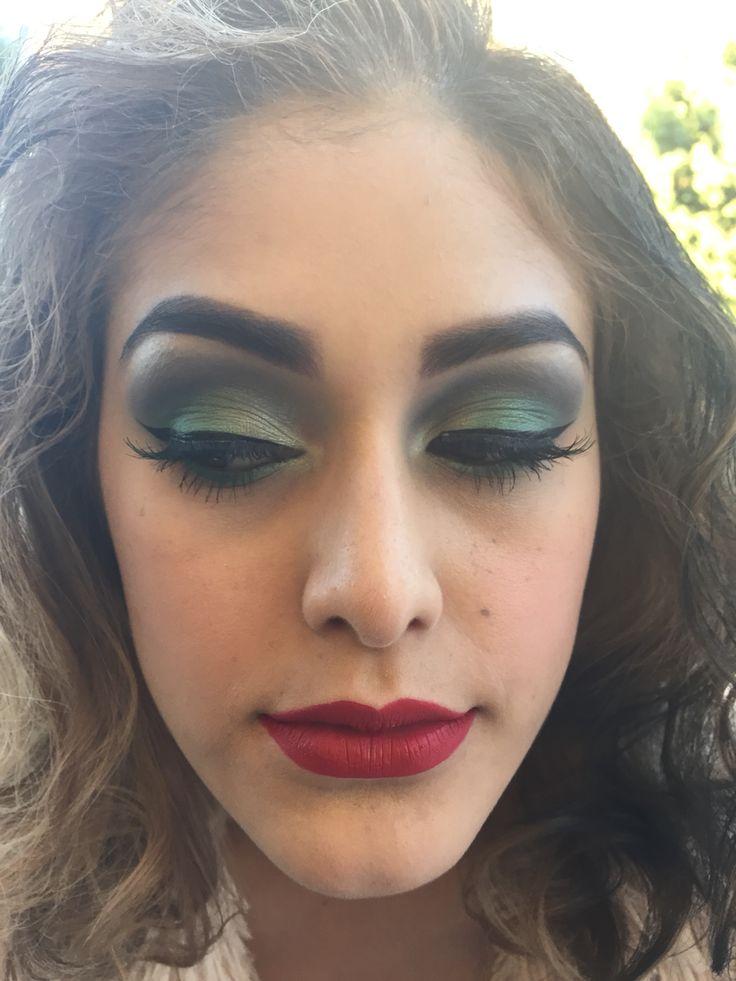 Cruella DeVille makeup 2014