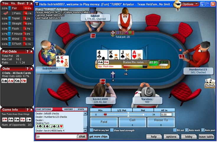 Collection of online poker tools
