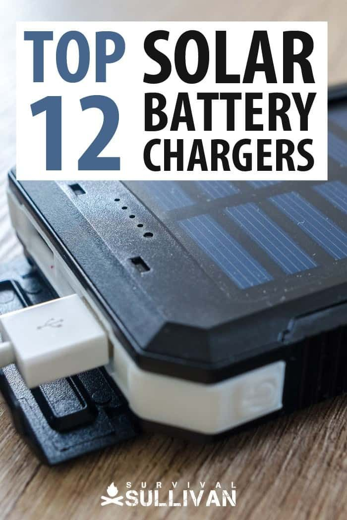 Top 12 Solar Battery Chargers Survival Sullivan Solar Battery Solar Battery Charger Diy Solar Charger