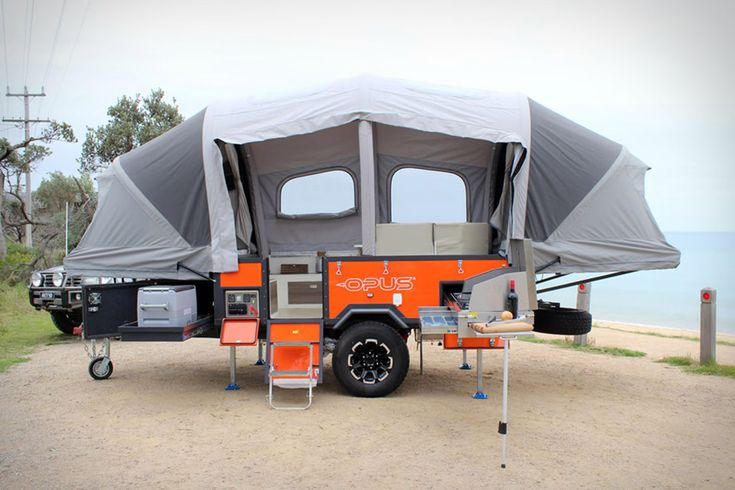 Pop-up campers are great for saving space, but not so great for easy setup. The Air Opus Pop-Up Camper alleviates this by replacing traditional poles and cranks with air-filled supports that inflate in just 90 seconds with the flip of...