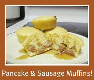 YUM! Pancake & Sausage Muffins!