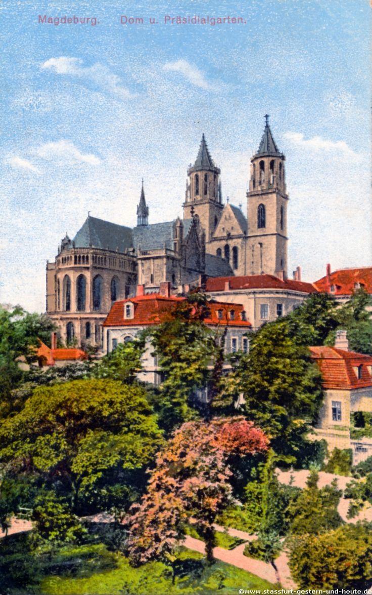 magdeburg domdplatz ostseite | Der Magdeburger Dom