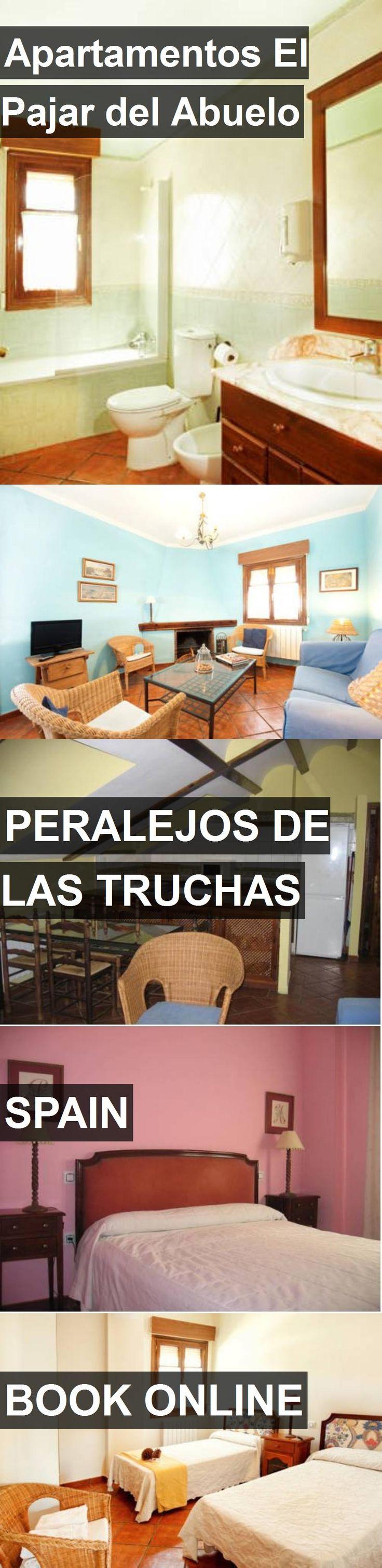 Hotel Apartamentos El Pajar del Abuelo in Peralejos de las Truchas, Spain. For more information, photos, reviews and best prices please follow the link. #Spain #PeralejosdelasTruchas #ApartamentosElPajardelAbuelo #hotel #travel #vacation