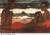 Papuan youth - Emil Nolde
