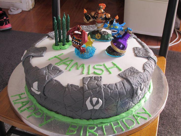 Skylanders portal of power cake