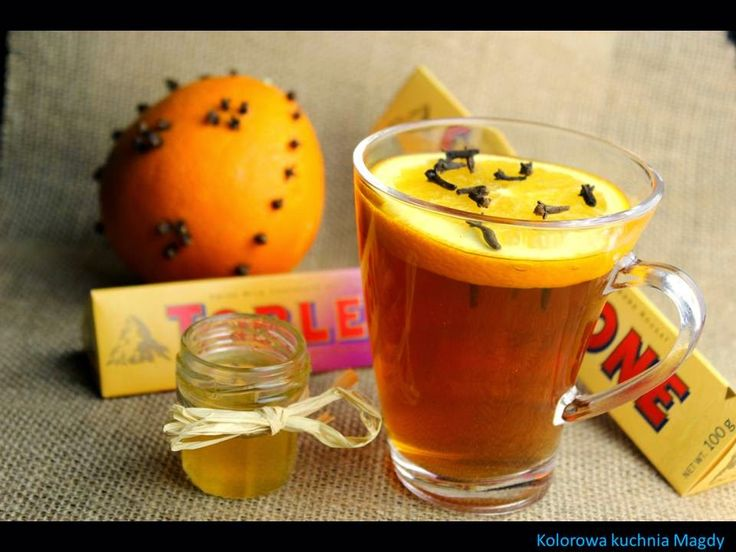 Kolorowa Kuchnia Magdy: Zimowa herbata