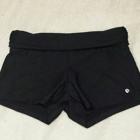 Spandex shorts Comes with built-in undies. Top folds down. N for Next  Shorts