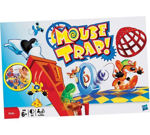 Buy Mousetrap Board Game from Hasbro Gaming at Argos.co.uk - Your Online Shop for Games and board games, Games and puzzles, Toys.