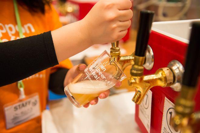春だからビールが飲みたい クラフトビールの祭典ニッポンクラフトビアフェスティバル2016 in すみだが開催