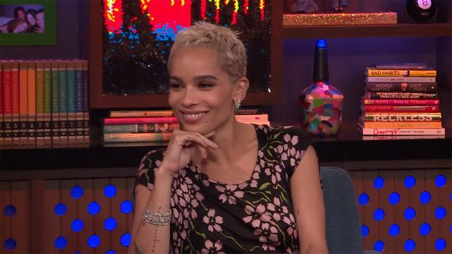 Zoe Kravitz Dodges Drake Dating Questions on 'WWHL': 'We Hung Out For a Minute'