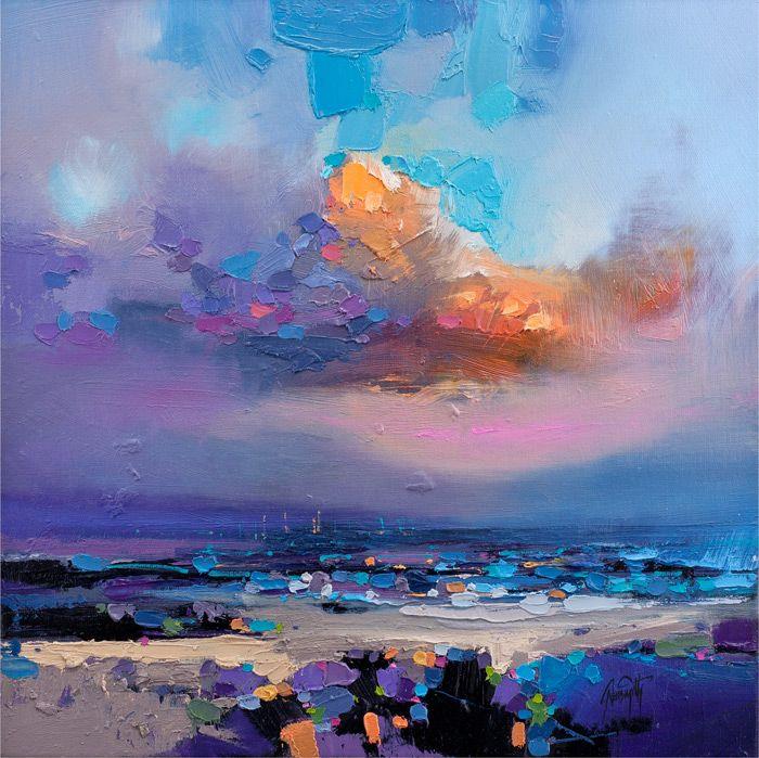 Scott Naismith - Will it rain? : Print from a painting by Scott Naismith : Contemporary Scottish Artist