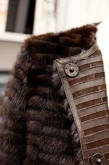 Fendi  I tried on this coat at Fendi, New York! Thank You Travis!!!!!!!