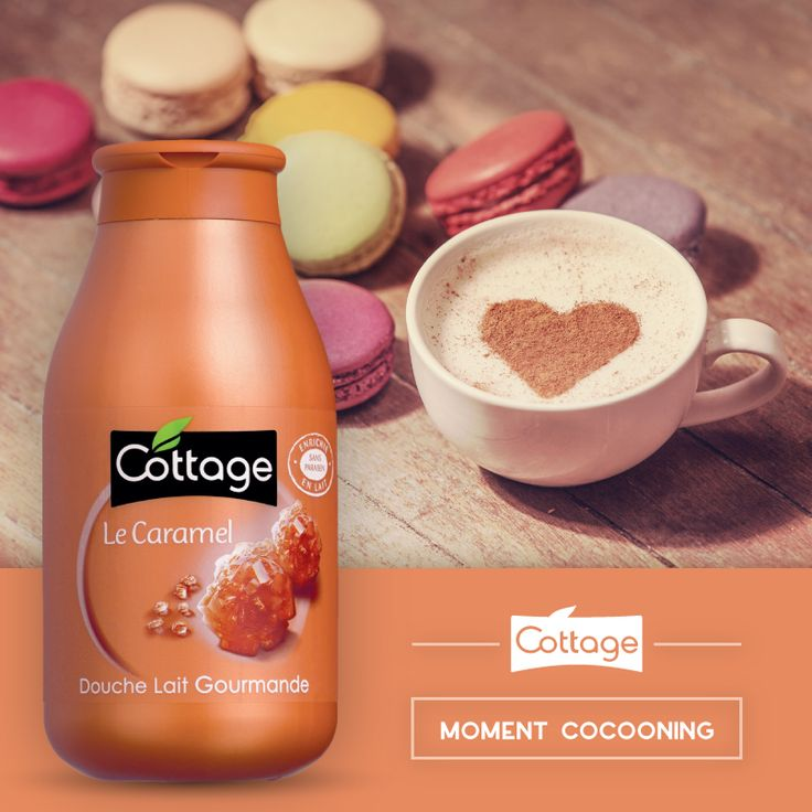 Douche Lait Gourmande Le Caramel - Cottage