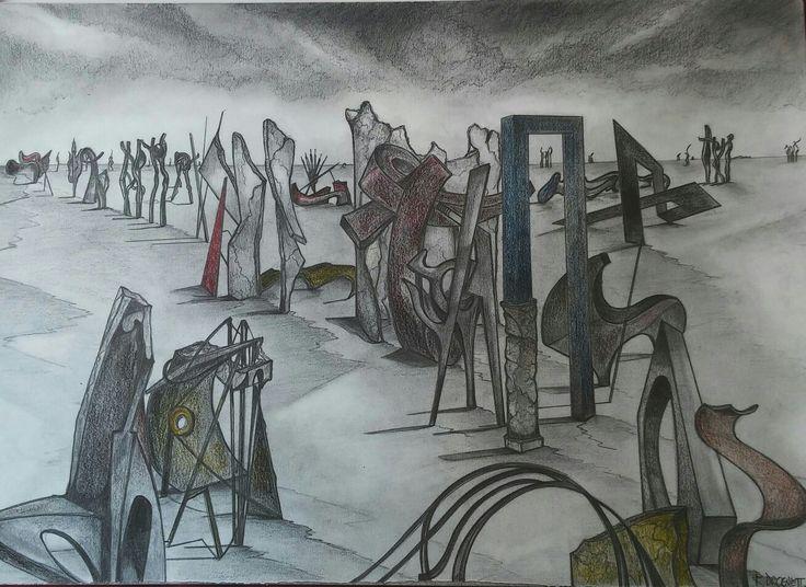 Dibujo Serie. Teoremas y Memoria  Raúl Droguett