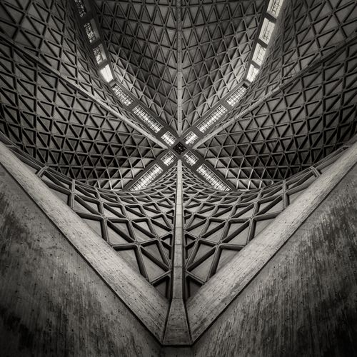 Architect Pier Luigi Nervi  The Cathedral of Saint Mary of the Assumption  San Francisco