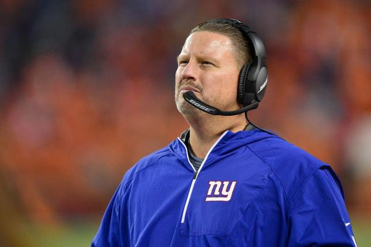 DENVER, CO - OCTOBER 15: Head coach Ben McAdoo of the New York Giants looks on from the sideline during a game against the Denver Broncos at Sports Authority Field at Mile High on October 15, 2017 in Denver, Colorado. (Photo by Dustin Bradford/Getty Images)
