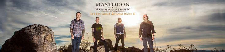 """Царство неотвратимости, отчаяния и песка. Рецензия на новый альбом Mastodon """"Emperor of sand"""""""