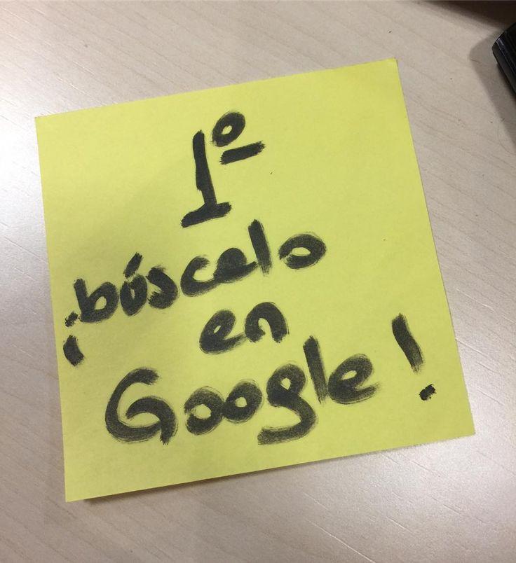 La única pregunta tonta es la que te hacen sin antes buscarla en Google   #marketingdigital #tweegram #igers #smallbusiness #workfromhome #branding #working